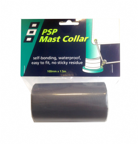 PSP Marine Waterproof Mast Collar Tape Black 100mm x 1.5m